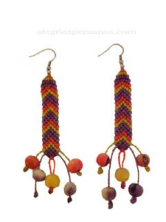 Earrings  Textile Style