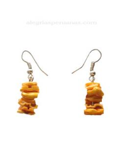 Earrings Barcago Orange