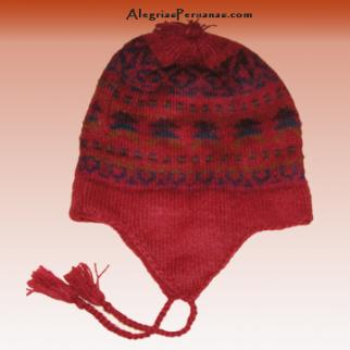 Knitted Hat Red Design