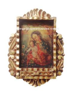 Handmade Frame Painting design Jesus and Maria II