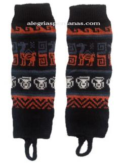 Leg Warmer Black Design