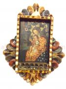 Handmade Frame Painting Jesus and Maria I