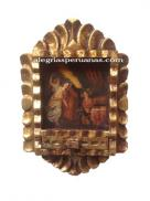 Handmade Frame Painting The Origen of Maria